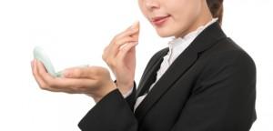 Businesswoman make up